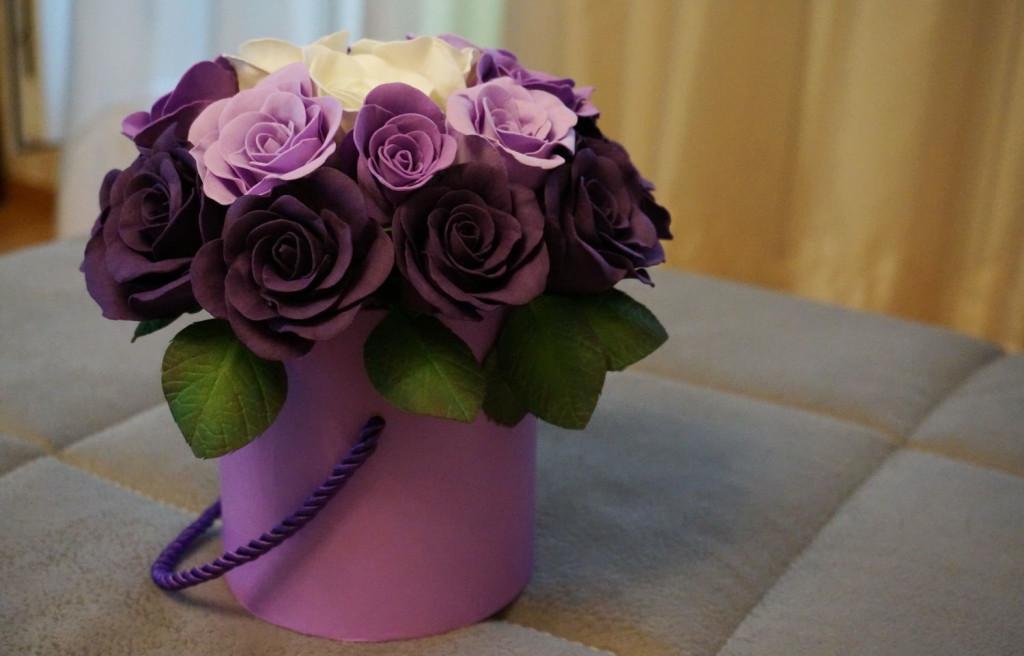 Очень Красивые Цветы Из Фоамирана