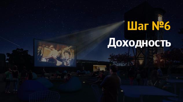 Бизнес план: кинотеатр под открытым небом